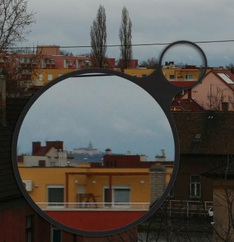 Pannonhalmi apátság az ablakunkból
