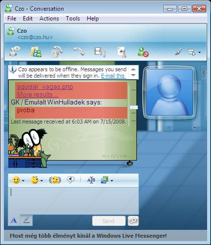 Microsoft Live Messenger