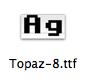 Topaz 8