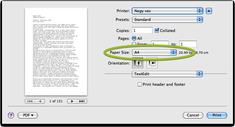 c6dacbd784 Ha ez megvan, akkor a PDF menüben (gombon) a Save as PDF... menüpontot  kiválasztva az adott dokumentumot könnyedén PDF-é alakíthatjuk, lehet az  bármi, kép, ...