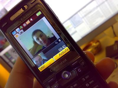 Video telefonálás