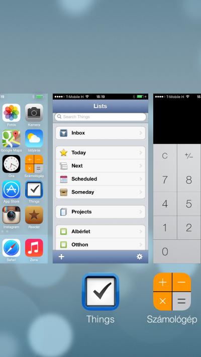 iOS 6 emulációs mód